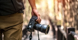 Kamera und Fotograf
