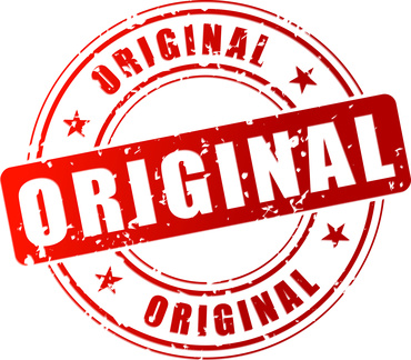 rotes Siegel Aufschrift Original