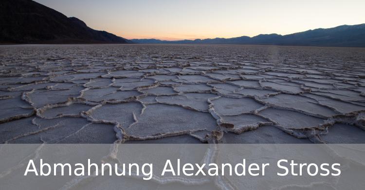 Abmahnung Alexander Stross | Bildrechtverletzung | unerlaubte Fotonutzung | Fotos bei Pixabay