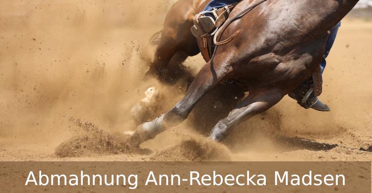 Abmahnung Ann-Rebecka Madsen | Urheberrechtsverletzung | Grafik Pferdeskelett