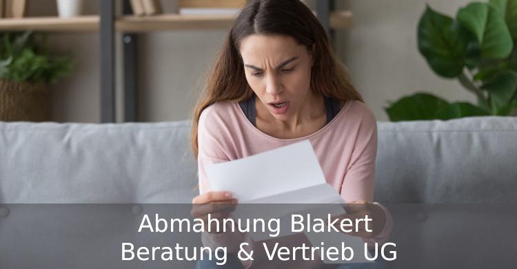 Abmahnung Blakert Beratung & Vertrieb UG | Verstoß gegen Textilkennzeichnungsverordnung