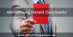 Abmahnung Harald Durstewitz | FAREDS Rechtsanwaelte | Verstoß gegen Textilkennzeichnungsgesetz