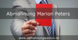 Abmahnung Marion Peters | Heidicker Rechtsanwälte | kein ausreichender Hinweis auf Ausweis der Umsatzsteuer