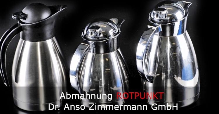 Abmahnung ROTPUNKT Dr. Anso Zimmermann GmbH | Marke Rotpunkt | irreführende Werbung