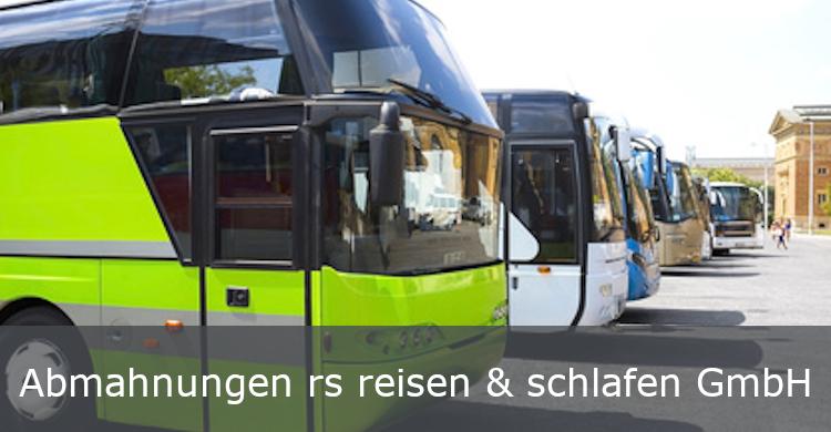Abmahnungen rs reisen & schlafen GmbH | Abmahnungswelle rs reisen & schlafen