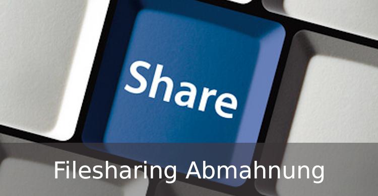 Filesharing Abmahnung | Abmahnung wegen Filesharing | Urheberrechtsverletzung durch Filesharing